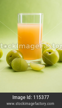 Amla Juice or Indian Gooseberry drink