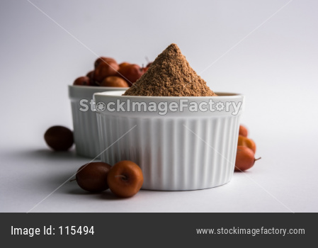 Borkut powder of Indian Jujube ber or berry