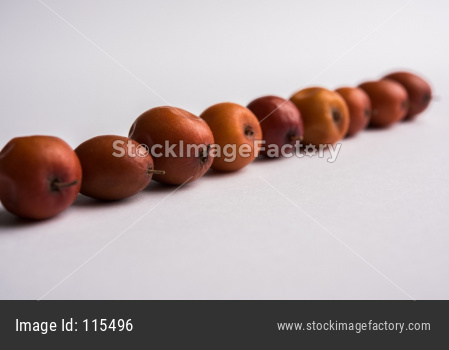 Organic Indian Jujube Ber OR Bor fruit