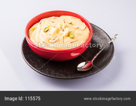 Shrikhand sweet food
