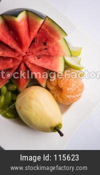 fruit salad or cut fruits