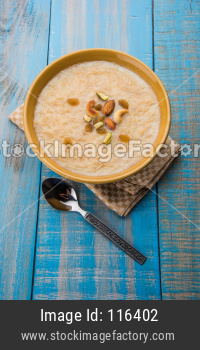 Khir or kheer payasam also known as Sheer Khurma Seviyan