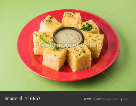 Khaman Dhokla from Gujarat, India