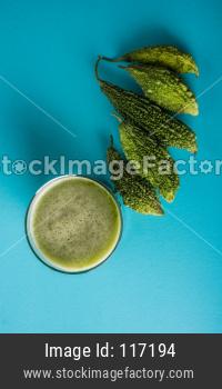 Karela juice / Bitter gourd drink