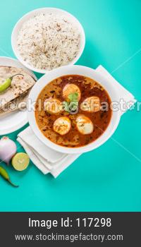 Anda Curry or Egg masala gravy