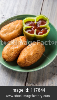 Shahi Bread Roll OR Bread Pakoda or Pakora
