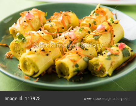 Khandvi Snacks OR Dahivadi OR Suralichi Vadi