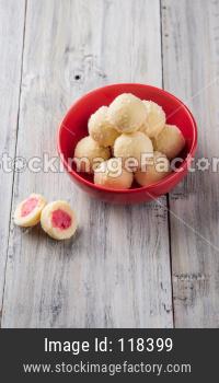 Kheer Kadam or Raskadam, Indian sweet