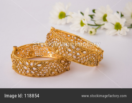 Gold bangles - Indian traditional jewellery