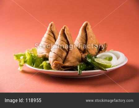 Veg Samosa Snack