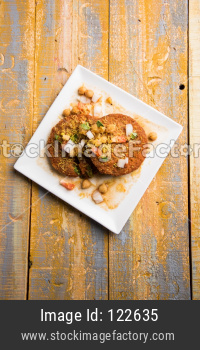 Aloo Tikki / Ragda Patties / Cutlet