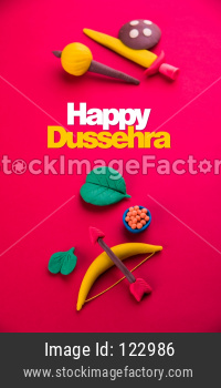 happy Dussehra / Ayudh Puja greeting card