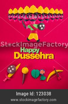 Dussehra Festival / Ayudh Puja concept