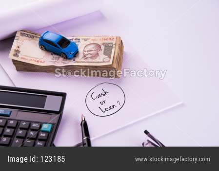 India and Auto Finance/ Loan or buying concept