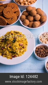 Homemade Diwali Snacks and Sweets