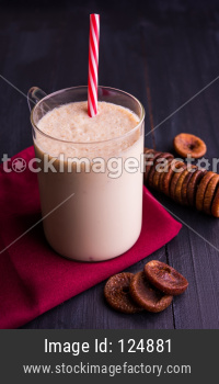 Anjeer Milk Shake or Fig smoothie
