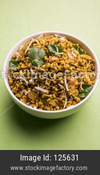 Mugachi Usal / Spicy Moong Sprouted Sabzi
