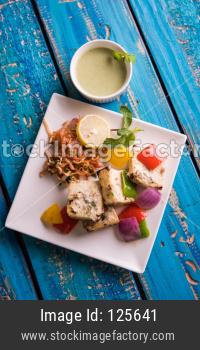 chilli paneer Tikka /  Kabab