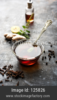Ayurvedic Kadha/Karha or health tonic