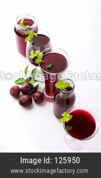 Kokum Sharbat OR  Garcinia indica juice