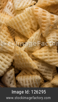 Triangle shape Fryums Papad