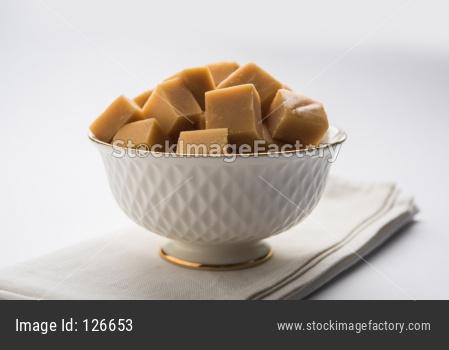 Shrikhand Vadi or Bar or cake
