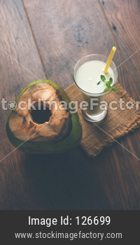 Coconut Lassi or milk
