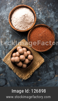 Ragi Laddu or Nachni Laddoo