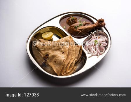 Mini Chicken Thali