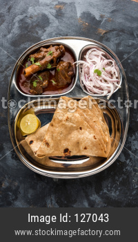 Mini Mutton Thali