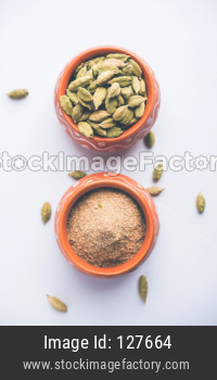 elaichi or Cardamom powder