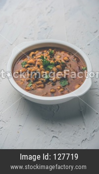 Black Eyed Kidney Beans Curry or Chawli chi usal / Barbati masala