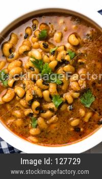 Black Eyed Kidney Beans Curry or Chawli chi usal / Barbati masala