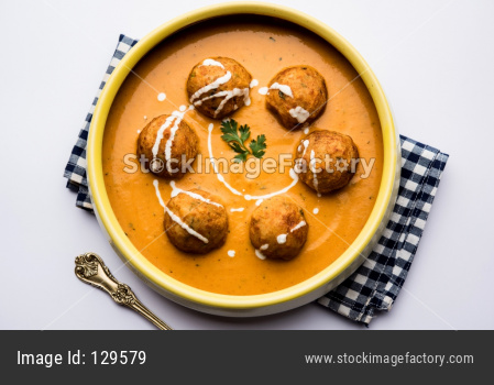 Malai Kofta curry is a Mughlai dish