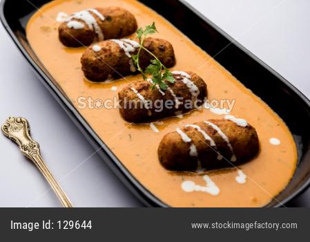 Malai Kofta curry is a Mughlai dish