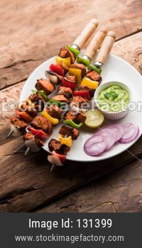 Chicken tikka / Chicken skew Kebab