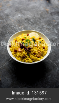 Lemon Rice / Fodnicha bhat
