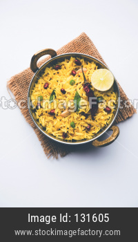 Lemon Rice / Fodnicha bhat