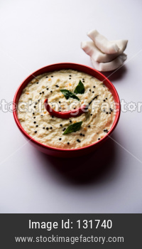 Nariyal or Coconut Chutney
