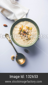 Sweet Rabdi or Lachha Rabri or basundi