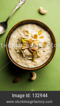 Sweet Rabdi or Lachha Rabri or basundi