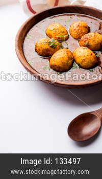 Egg curry or Anda Curry also known as Egg masala