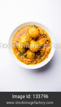 Dum aloo curry