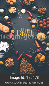 Happy Diwali Greeting Card