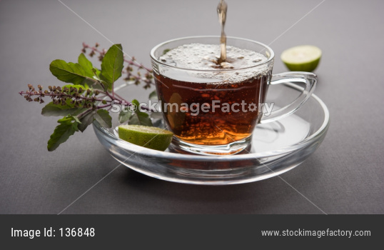Holy Basil or Tulsi Tea / chai / kadha