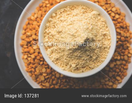 Besan powder, Gram or chickpea flour