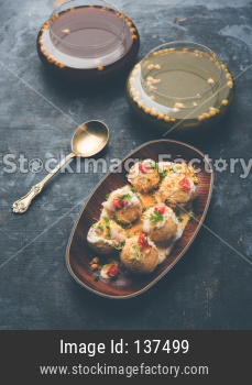 Dahi Puri chat food