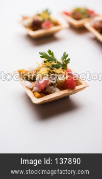 Crispy Canape or canapé is a starter recipe from India