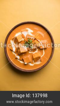 Paneer Butter Masala / Panir makhani / makhanwala