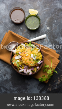 Ragda Pattice chat food from India